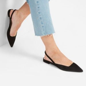 Everlane Shoes - The Editor Slingback Shoe by Everlane